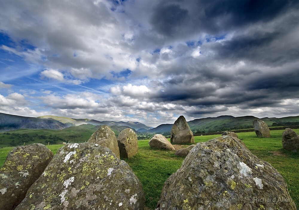 Castlerigg Standing Stones by Lea Valley Photographic