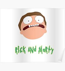 Rick and Morty - Morty  Poster