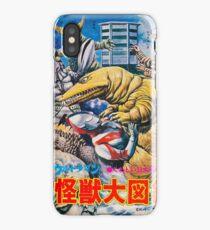 UltraMan is having an Adventure iPhone Case