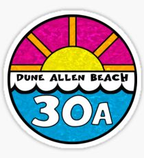Dune Allen Beach Florida 30A Emerald Coast Beach Ocean Vacation Sticker