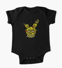 Fünf Nächte in Freddys 3 - Pixel Kunst - SpringTrap Baby Body Kurzarm
