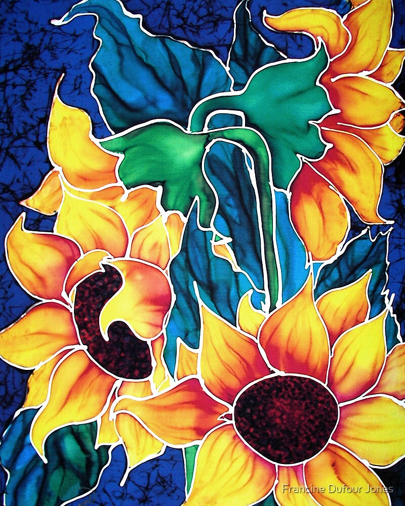 Sassy Sunflowers by Francine Dufour Jones