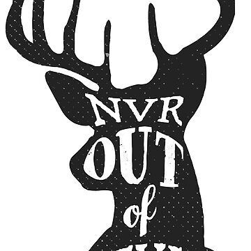 Never Out Of Style Stag by TheShirtShopUK