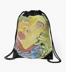 Bélier à cornes Drawstring Bag
