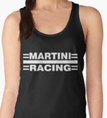 Martini Racing monochrome (white) Women's Tank Top