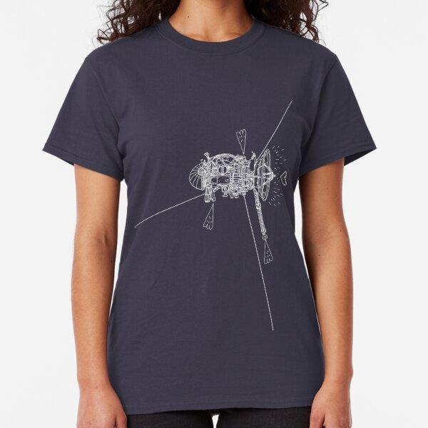 Cassini (blanc sur fond sombre) T-shirt classique