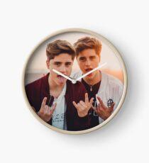 Marinez Twins Clock