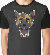Seth Malinos Shepard Graphic T-Shirt