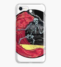Death Skull On Hell iPhone Case/Skin