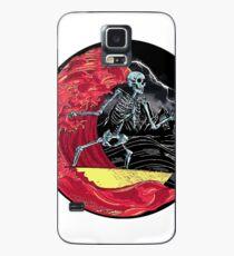 Death Skull On Hell Case/Skin for Samsung Galaxy
