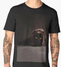 Cool Black Cat Men's Premium T-Shirt