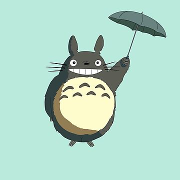 Flying totoro by seingalad