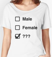 What is gender Women's Relaxed Fit T-Shirt