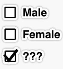 What is gender Sticker