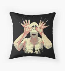 Pale Man Throw Pillow