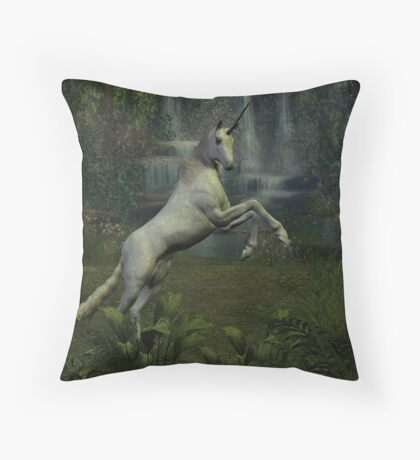 COME WITH ME TO A PLACE WHERE YOUR HEART WILL BE SAFE AND MAGICAL THINGS CAN HAPPEN   Throw Pillow