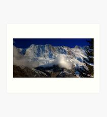 Alpine View - Murren 2  Art Print