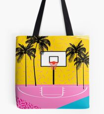 Dope - memphis retro vibes basketball sports athlete 80s throwback vintage style 1980's Tote Bag