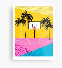 Dope - Memphis retro Vibes Basketball Sport Sportler 80er Jahre Throwback Vintage-Stil der 1980er Jahre Metalldruck