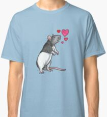 Hooded rat love (topear) Classic T-Shirt