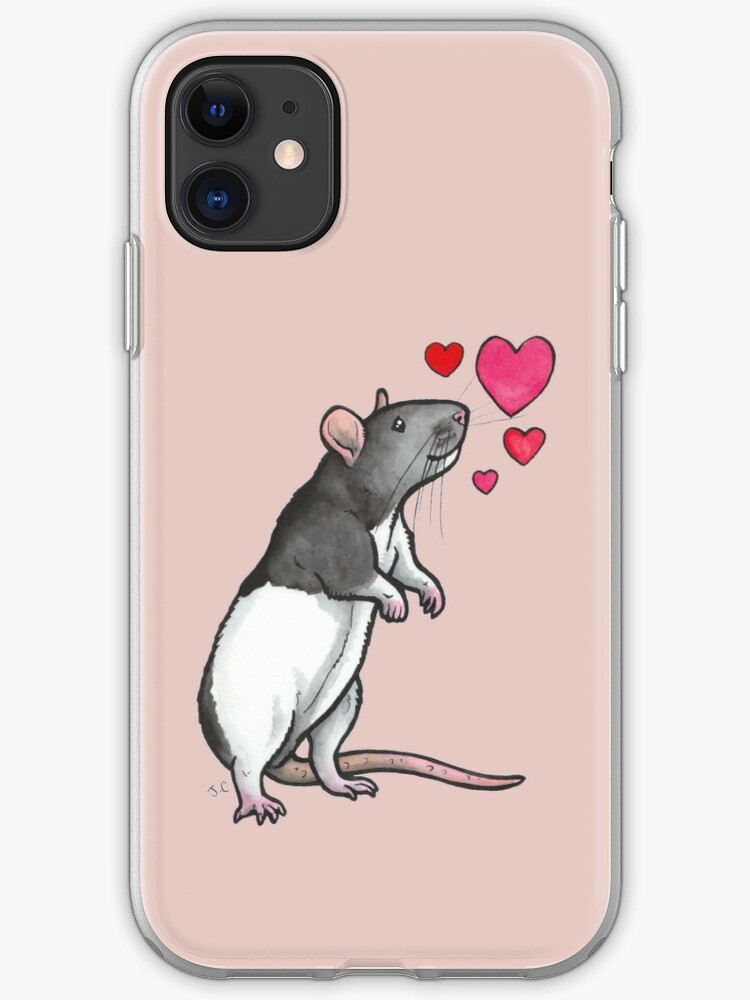 Ratty Faces iphone 11 case