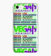 VEGAN 24/7 iPhone Case/Skin