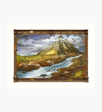 The Lonely Mountain Art Print