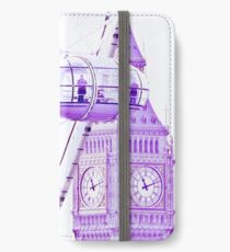 London Eye and Big Ben iPhone Wallet