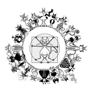 KINKY KITTY - Kinky Mandala by Kartoon