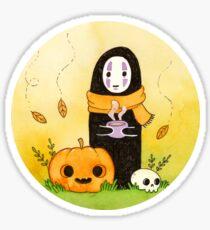 Autumn Kaonashi Sticker
