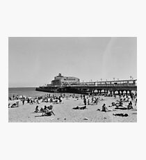 Bournemouth Pier - Summer In England Photographic Print