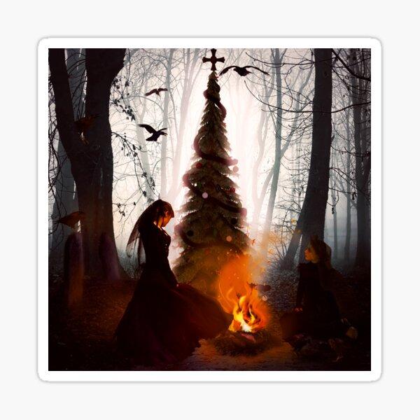 Dark Christmas Sticker