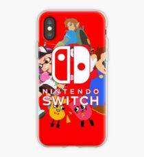 Vinilo o funda para iPhone Nintendo Switch