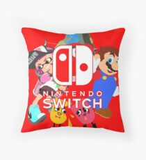 Nintendo Switch Throw Pillow