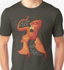 """Baby Smaug """"I am fire, I am death!"""" T-Shirt"""