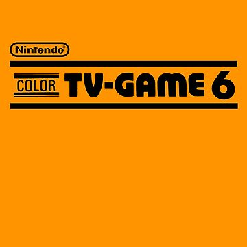 Nintendo Color TV Game 6 by 16TonPress