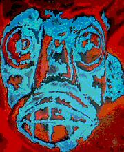 Tribal Face by Kenneth McCracken