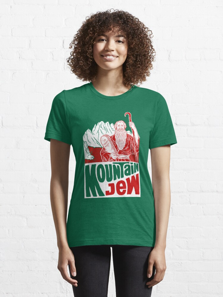 Alternate view of Mountain Jew Essential T-Shirt