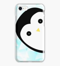 Baby pinguin ice vector iPhone Case/Skin