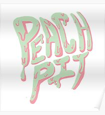 Peach Pit Poster