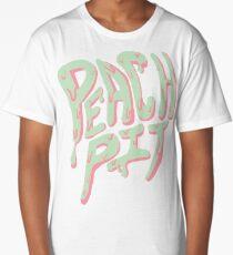 Peach Pit Long T-Shirt