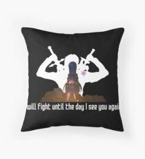 Sword Art Online Kirito Asuna Yui Throw Pillow