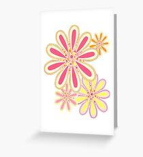 Petals and Dots Greeting Card