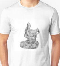 Feeding Squirrel Unisex T-Shirt