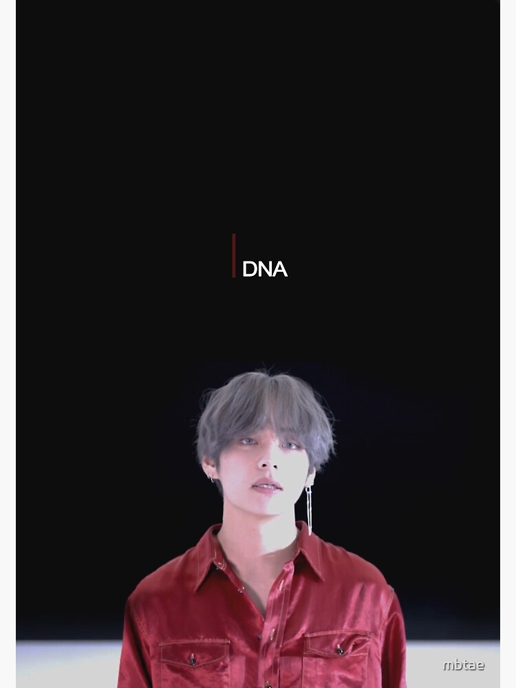 Bts V Dna Greeting Card By Mbtae Redbubble