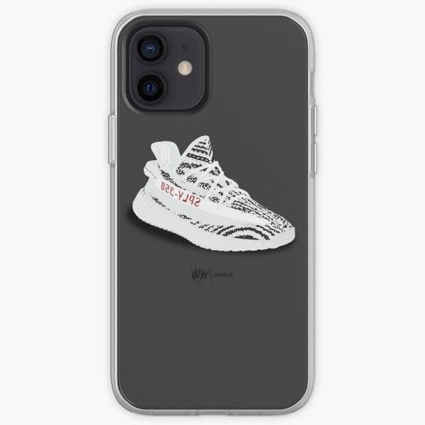 Yeezy Zebra Coque souple iPhone