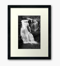Bald River Falls III Framed Print