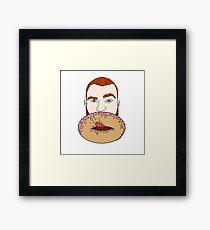 Donut Hole Framed Print
