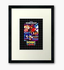 Sonic Mania Game Sega Genesis American Framed Print