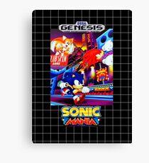 Sonic Mania Game Sega Genesis American Canvas Print